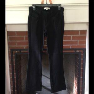 Ann Taylor Loft Black Ponte Pants